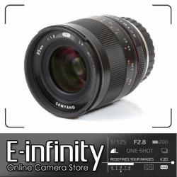 NEW Samyang 35mm f/1.2 ED AS UMC CS Lens for Fuji X Mount (Black)