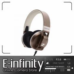 NEW Sennheiser Urbanite XL Over-Ear Headphones (Sand, for Apple iOS) (506447)