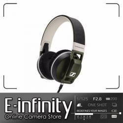 NEW Sennheiser Urbanite XL Over-Ear Headphones (Olive, for Apple iOS) (506448)