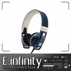 NEW Sennheiser Urbanite On-Ear Earphones (Denim, Apple iOS)