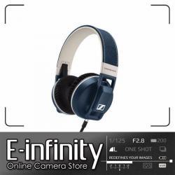 NEW Sennheiser Urbanite XL Over-Ear Headphones (Denim, Apple iOS)