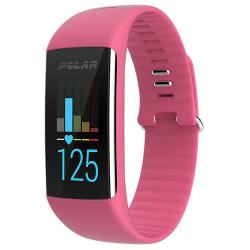 Polar A360 (Medium) HRM Fitness Tracker - Pink with AUST POLAR WARR