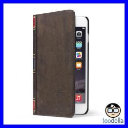 Si buscas TWELVE SOUTH Bookbook Leather Wallet vintage case, iPhone 6 Plus/6s Plus BROWN puedes comprarlo con PROFOTOMX está en venta al mejor precio