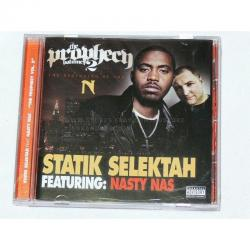 THE PROPHECY VOLUME 2, STATIK SELEKTAH NASTY NAS NEW CD