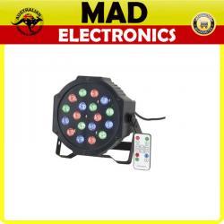 RGB LED Stage Can Light Disco DJ Club Effect Lighting UP Lighter DMX AU 18 x 1w