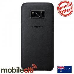 Si buscas Samsung Galaxy S8 Alcantara Back Cover - Dark Grey puedes comprarlo con SLIM_COMPANY está en venta al mejor precio