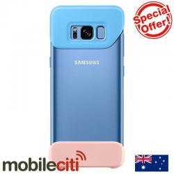 Si buscas Samsung Galaxy S8 2 Piece Back Cover - Blue puedes comprarlo con SLIM_COMPANY está en venta al mejor precio