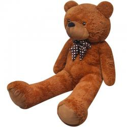 Giant Cute Brown Soft Plush Teddy Bear Huge Doll Toy Cotton 150cm Gift Present