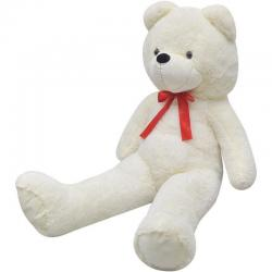 Giant Cute White Soft Plush Teddy Bear Huge Doll Toy Cotton 175cm Gift Present