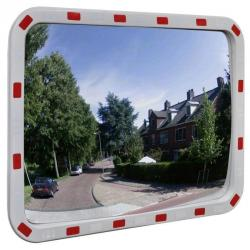 60x80cm Traffic Safety Mirror Outdoor Convex Security Plastic Wall Reflector