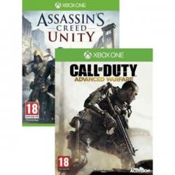 Assassins Creed Unity & Call of Duty (Cod) Advanced Warfare Xbox One New