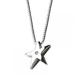 Just Add Love Sterling Silver Stargazer Pendant & Chain by Hot Diamonds DP008