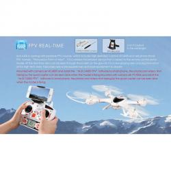 X-Series X400-V2 2.4G 6-Axis Radio Control RC Drone with Camera C4002
