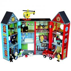 If you are looking BRAND NEW QUALITY BUBBADOO WOODEN TOY RESCUE PLAY SET POLICE FIRE PLAYSET you can buy to nicolestoysgifts, It is on sale at the best price