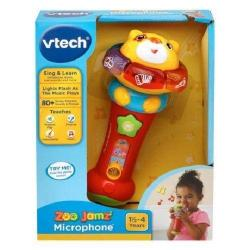 NEW VTECH SAFARI SOUNDS MICROPHONE 80-184003