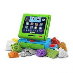 NEW LEAP FROG COUNT ALONG TILL CASH REGISTER 19306 LEAPFROG