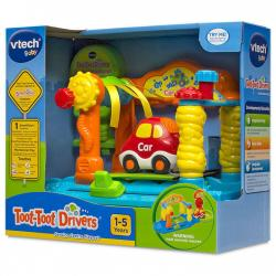 NEW VTECH BABY TOOT TOOT DRIVERS SERVICE CENTRE PLAY SET 152603