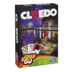 NEW HASBRO CLUEDO GRAB & AND GO TRAVEL GAME B0999 BOARD GAMES PORTABLE CLUE