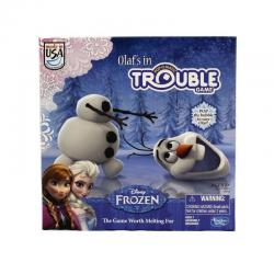NEW HASBRO DISNEY FROZEN OLAF'S IN TROUBLE BOARD GAME B1646