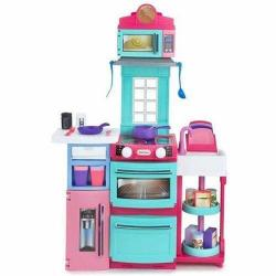 NEW LITTLE TIKES COOK 'N STORE KITCHEN PINK 639463M PRETEND PLAY
