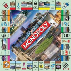NEW MONOPOLY BOARD GAME ADELAIDE EDITION 152921-1
