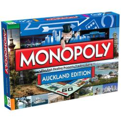 NEW MONOPOLY BOARD GAME AUCKLAND EDITION 118792-1