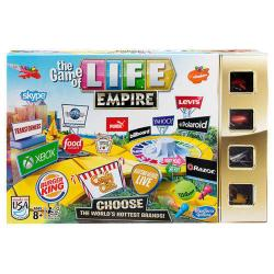 NEW HASBRO THE GAME OF LIFE EMPIRE - CHOOSE THE WORLDS HOTTEST BRANDS B5094