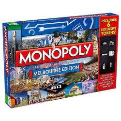 NEW HASBRO MONOPOLY MELBOURNE EDITION BOARD GAME 177330-2