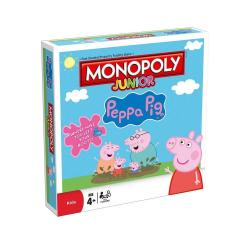 NEW MONOPOLY JUNIOR JR PEPPA PIG EDITION 181641-0