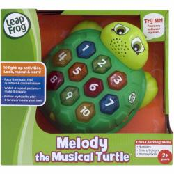 NEW LEAP FROG MELODY THE MUSICAL TURTLE 19303