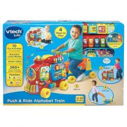 NEW VTECH BABY PUSH AND RIDE ALPHABET TRAIN 181903
