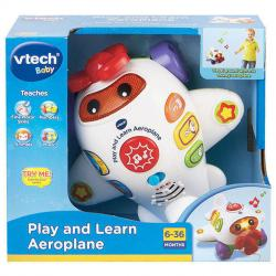 NEW VTECH BABY PLAY AND LEARN AEROPLANE 138403