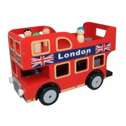 If you are looking NEW BUBBADOO WOODEN LONDON DOUBLE DECKER TOY BUS you can buy to nicolestoysgifts, It is on sale at the best price
