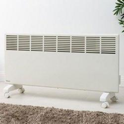 Rinnai 2200W Electric Manual Panel Heater + Castors & Mounts + 7 Year Warranty