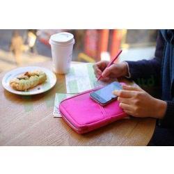 Si buscas New Travel Wallet Passport Holder Document Organiser Bag Ticket Credit Card Case puedes comprarlo con Deportronics está en venta al mejor precio