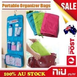 Si buscas Large Toiletry Travel Cosmetic Makeup Purse Wash Organiser Hanging Storage Bags puedes comprarlo con Deportronics está en venta al mejor precio