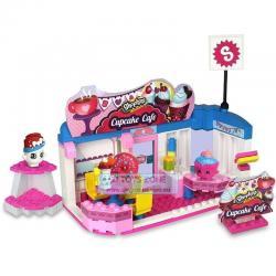 Si buscas Shopkins Kinstructions Cupcake Cafe Scene Set 175 Pcs Kids Building Block Const puedes comprarlo con MCKTOYS está en venta al mejor precio