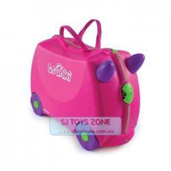 Si buscas Trunki Ride On Suitcase Trixie Pink Kids Travel Luggage Toy Box puedes comprarlo con Deportronics está en venta al mejor precio