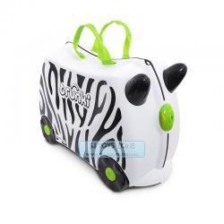 Trunki Zebra Zimba Ride On Travelling Luggage For Kids