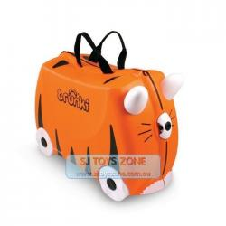 Trunki Ride On Suitcase Tipu The Tiger Kids Travel Luggage Toy Box