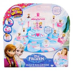 Glitzi Globes Disney Frozen Elsa's Ballroom Playset Arts & Crafts Toy Pack Free
