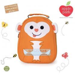 Apple Park Monkey School ECO Lunch Bag For Preschool Kinder Kids