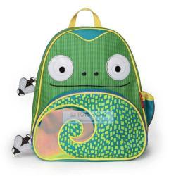 Skip Hop Zoo Pack Little Kids Backpack Chameleon Fun Function Side Bottle Pocket