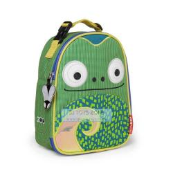 Skip Hop Zoo Lunchies Insulated Little Kids Lunch Bag Chameleon Fun & Function
