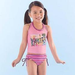 NEW Disney Princess' 2 pce Tankini Swimsuit Sz 3