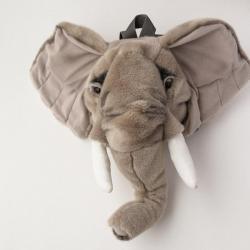 NEW Wild & Soft Plush Elephant Backpack