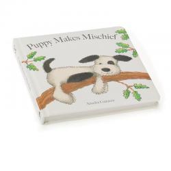 NEW Jellycat 'Puppy Makes Mischief' Bashful Puppy Book