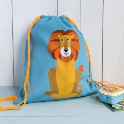 NEW Rex Childrens Drawstring Bag - Lion