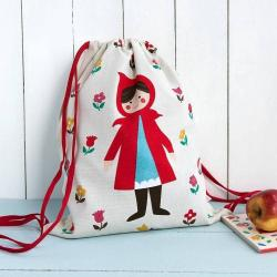 NEW Rex Little Red Riding Hood Drawstring Bag