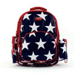 NEW Penny Scallan Large Backpack - Navy Star